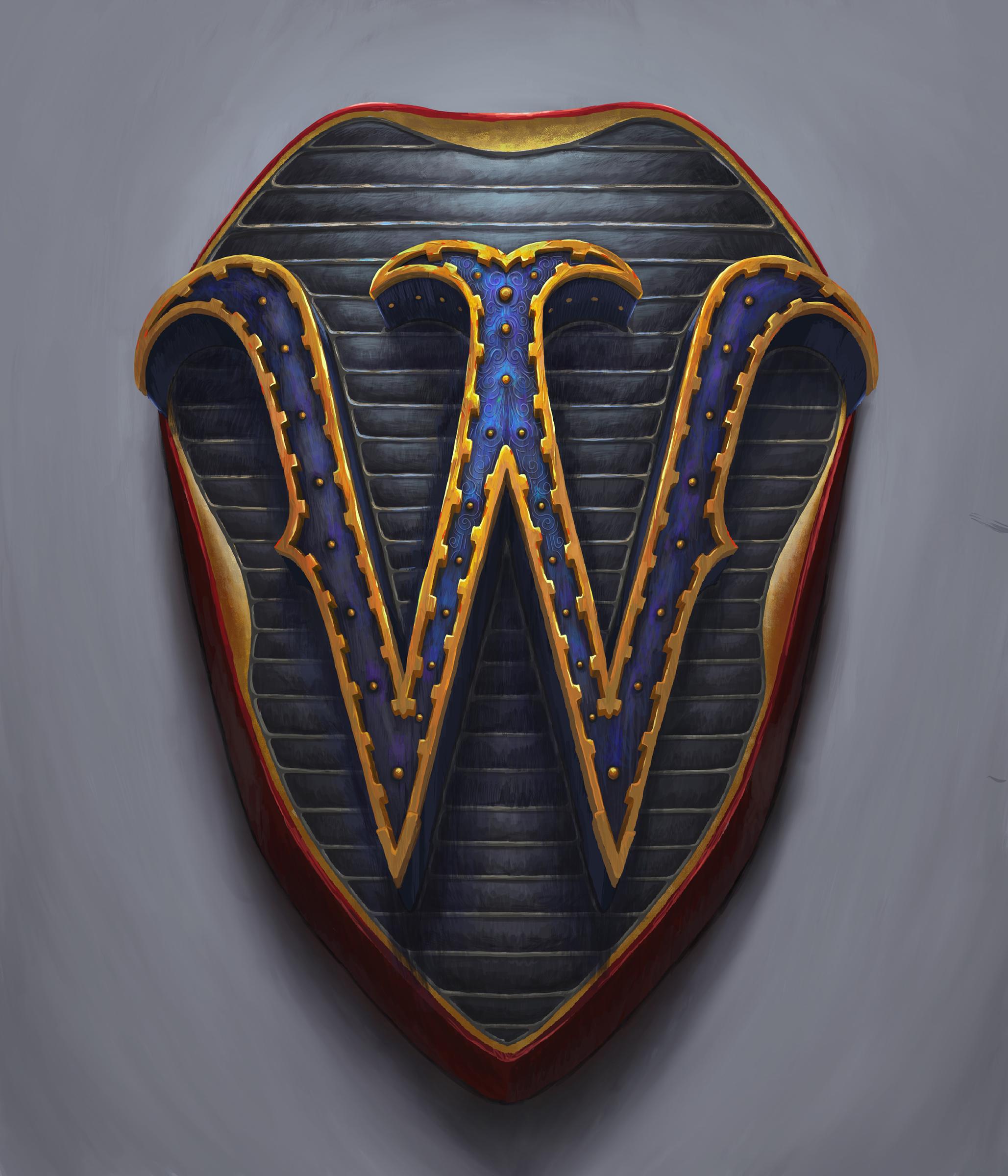 W badge